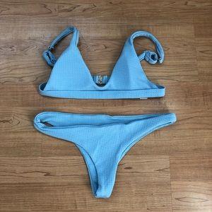 Other - Light blue cheeky bikini